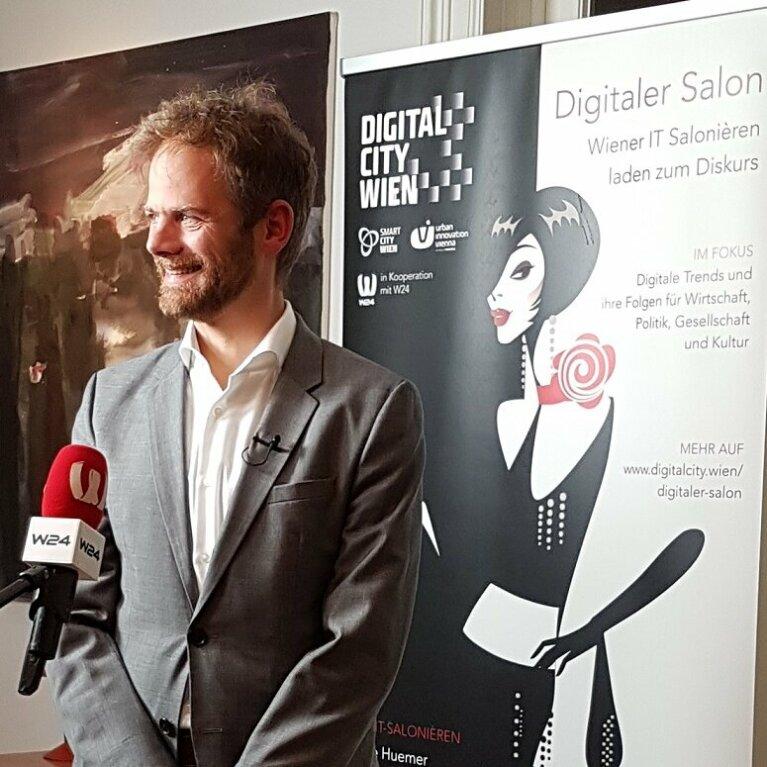 40. Digitaler Salon: Der neue CIO der Stadt Wien stellt sich vor