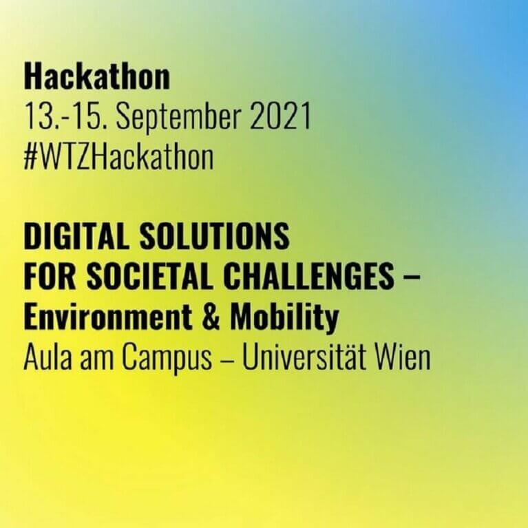 Hackathon: Digital Solutions for Societal Challenges – Environment & Mobility